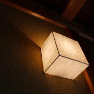 和紙のライト