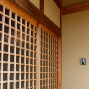 木なりの家_玄関