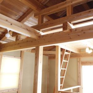 木なりの家_ロフト