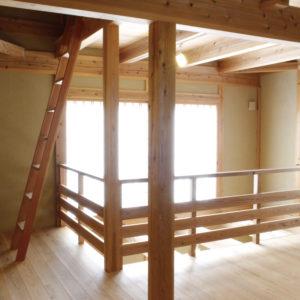 木なりの家_柱